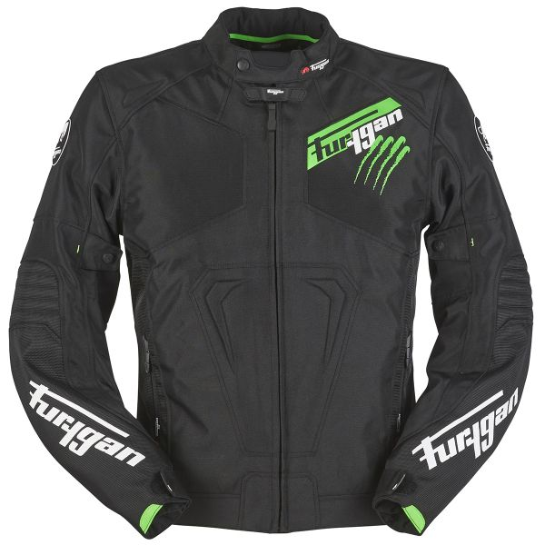 Furygan Hurricane Black Fluo Green
