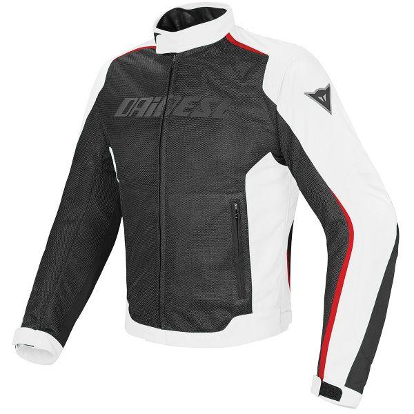 Blouson Moto Dainese Hydra Flux D-Dry Black White Red