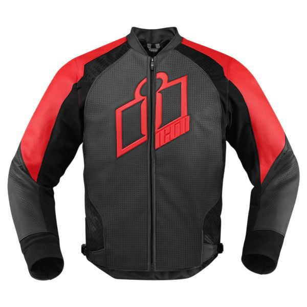 Blouson Moto ICON Hypersport Red