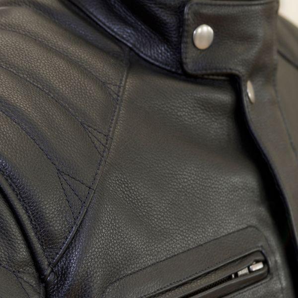 Merlin Keele Leather Black