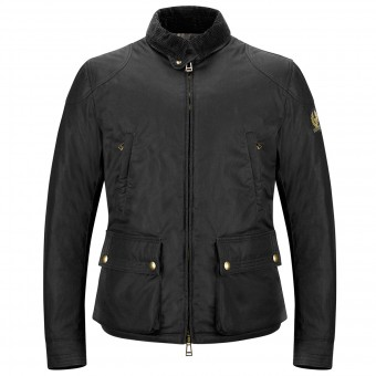 Blouson Moto Belstaff Keeple Gate Black