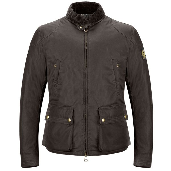 Veste Moto Belstaff Keeple Gate Mahogany