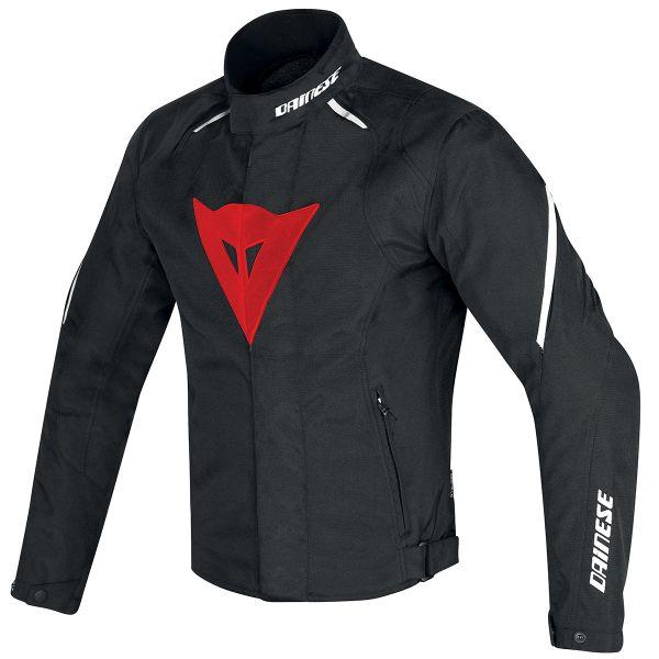 Blouson Moto Dainese Laguna Seca D1 D-Dry Black Red White