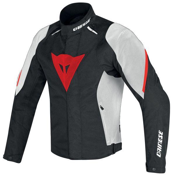 Blouson Moto Dainese Laguna Seca D1 D-Dry Black White Red