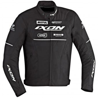Blouson Moto Ixon Matrix Black White