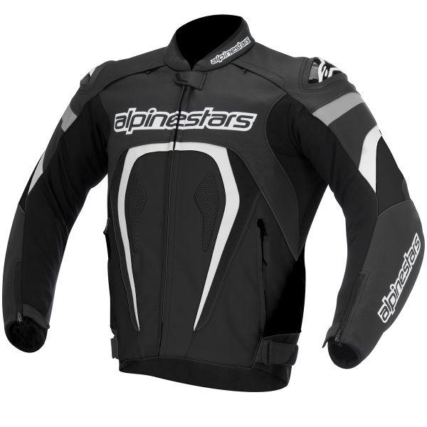 Blouson Moto Alpinestars Motegi Black White