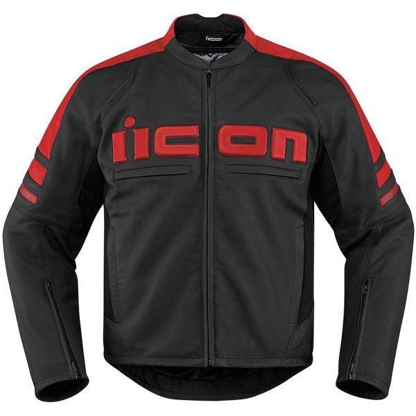 Blouson Moto ICON Motorhead 2 Red