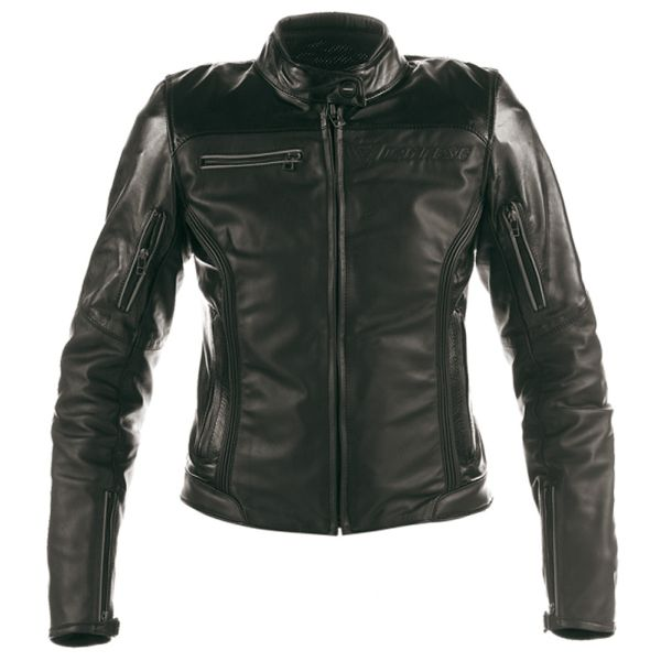 Blouson Moto Dainese Nikita Lady Black