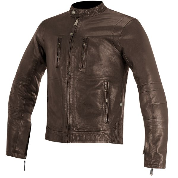 Blouson Moto Alpinestars Oscar Brass Tobacco Brown
