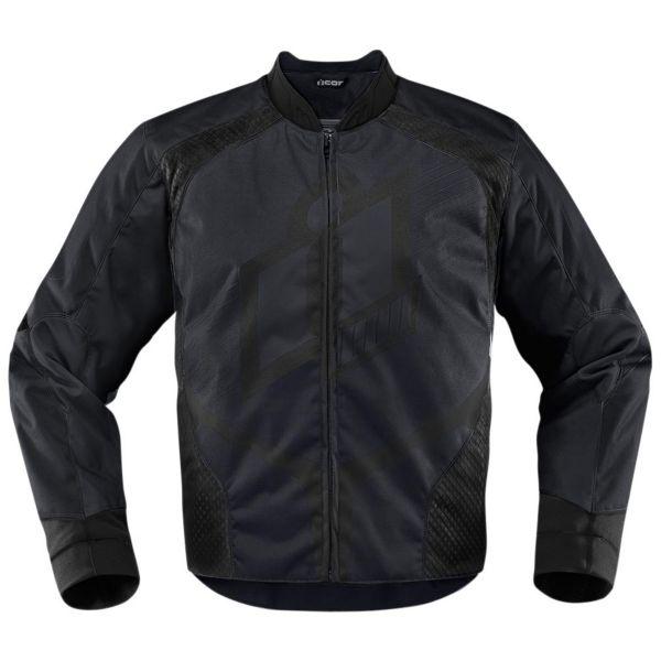 Blouson Moto ICON Overlord D3O Black