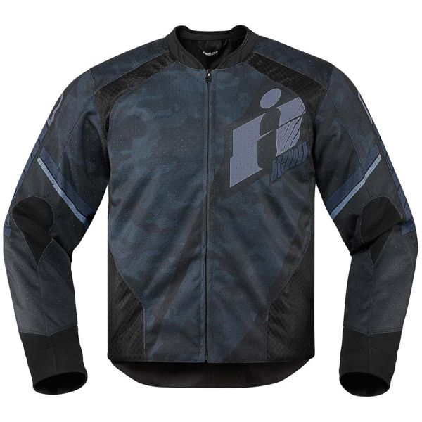 Blouson Moto ICON Overlord Primary Black