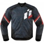 Blouson Moto ICON Overlord Primary Red