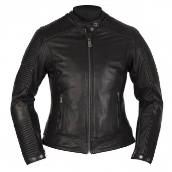 Blouson Moto Helstons Razzia Leather Rag Black