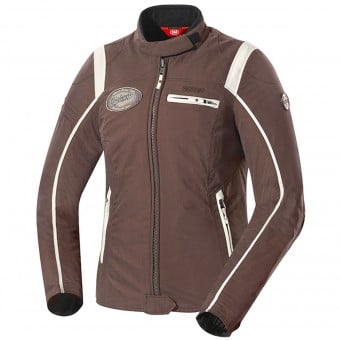 Blouson Moto IXS Ridley Lady Brown