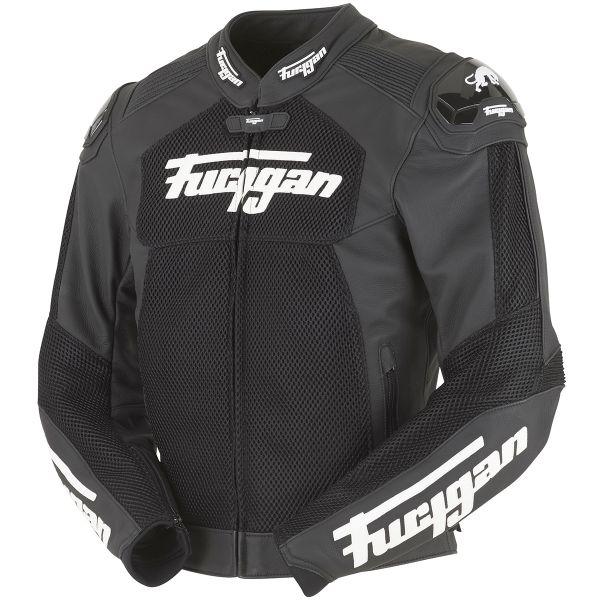 Furygan Speed Mesh 3D Black White
