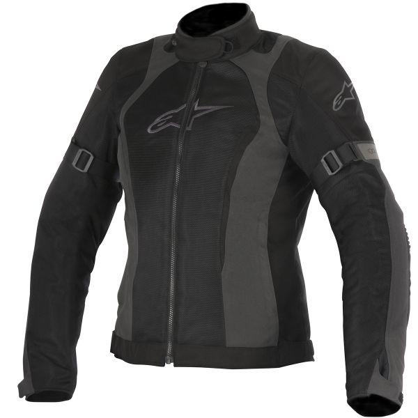 Blouson Moto Alpinestars Stella Amok Air Drystar Black Dark Gray