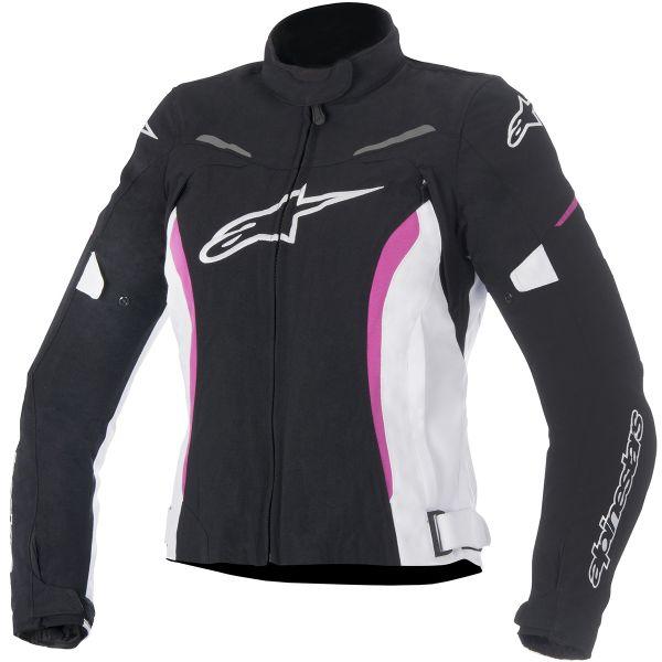 Blouson Moto Alpinestars Stella Rox Black White Fuchsia