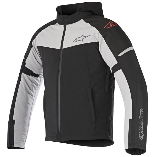 Blouson Moto Alpinestars Stratos Techshell Drystar Black Light Grey