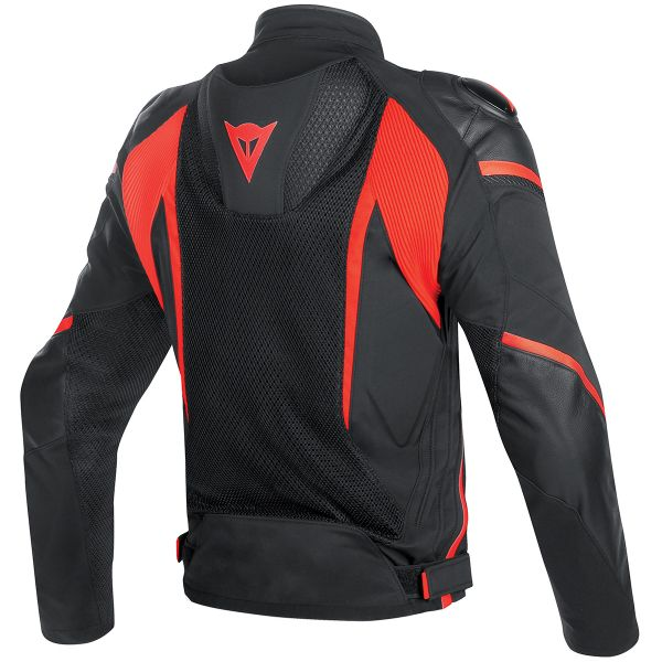 Dainese Super Rider D-Dry Black Red Fluo
