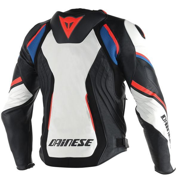 Dainese Super Speed D1 White Black Red Fluo