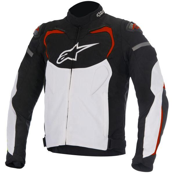 Blouson Moto Alpinestars T-GP PRO White Red