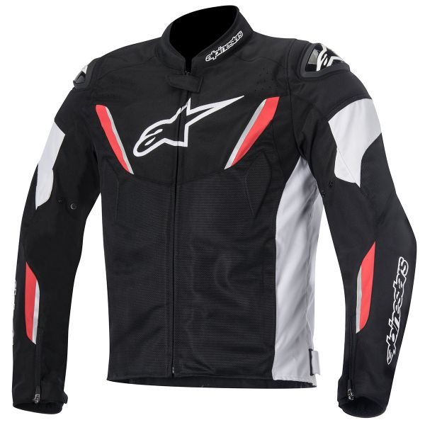 blouson moto alpinestars t gp r air black white red en stock. Black Bedroom Furniture Sets. Home Design Ideas