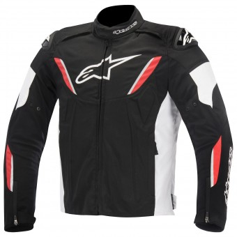 Blouson Moto Alpinestars T-GP R Waterproof Black White Red