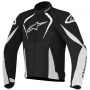 Blouson Moto Alpinestars T-Jaws Waterproof Black White