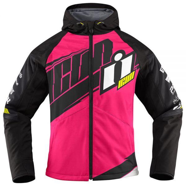 blouson moto icon team merc woman pink cherche propri taire. Black Bedroom Furniture Sets. Home Design Ideas