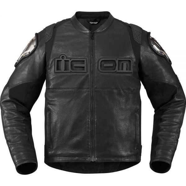 Blouson Moto ICON Timax Black