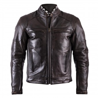 Blouson Moto Helstons Trust Leather Dirty Brown