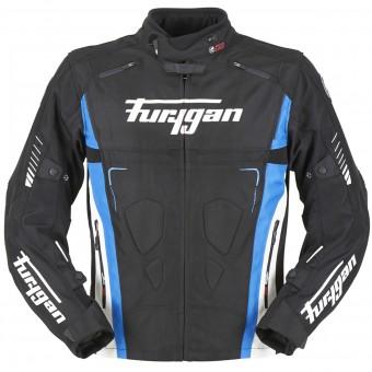 Blouson Moto Furygan Vortex Black Blue White