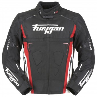 Blouson Moto Furygan Vortex Black Red White