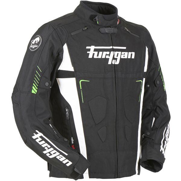 Furygan Vortex Black White Green