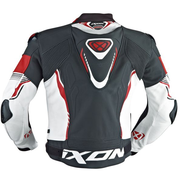 Ixon Vortex Jacket Black White Red