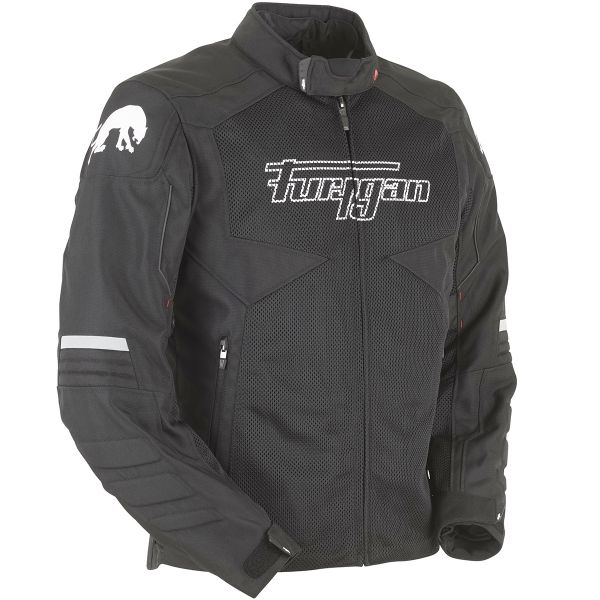 Blouson Moto Furygan WB-06 2 in 1 Vented Black