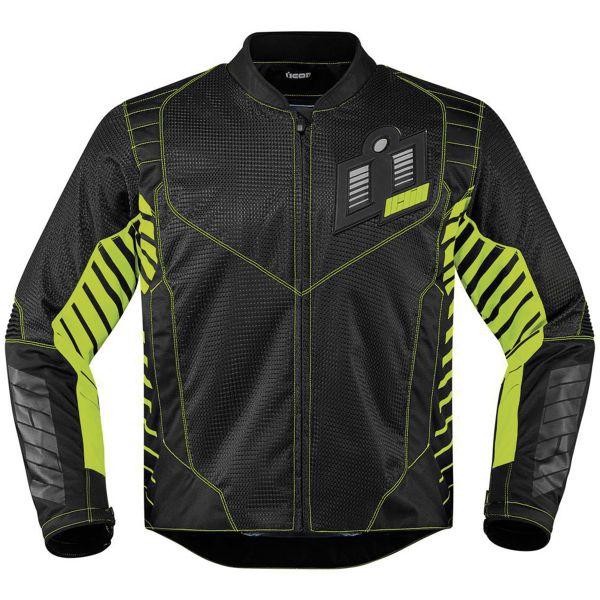 Blouson Moto ICON Wireform Green
