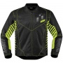 Blouson Moto ICON Wireform Green