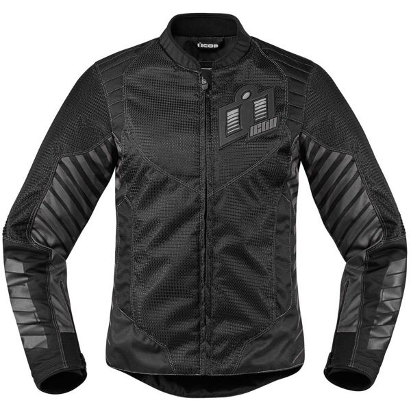 Blouson Moto ICON Wireform Woman Black