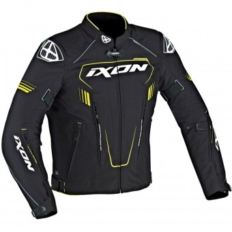 Blouson Moto Ixon Zephyr HP Black White Yellow