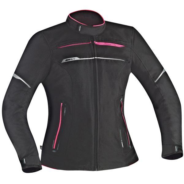 Blouson Moto Ixon Zetec C-Sizing HP Lady Black Pink
