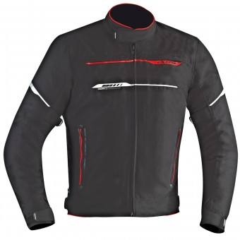 Blouson Moto Ixon Zetec HP Black Red