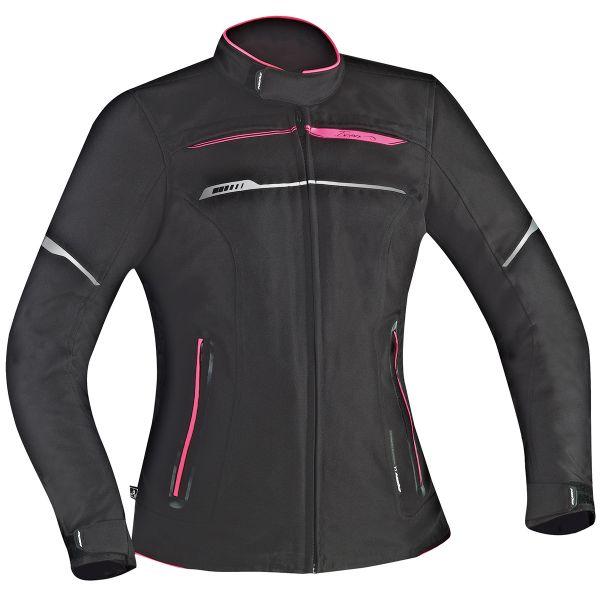 Blouson Moto Ixon Zetec Lady HP Black Pink
