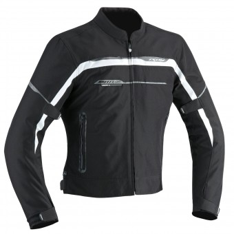 Blouson Moto Ixon Zetec Light HP Black Grey White