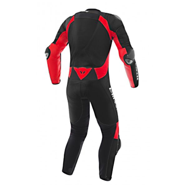 Dainese D-Air Racing Misano Black Fluo Red