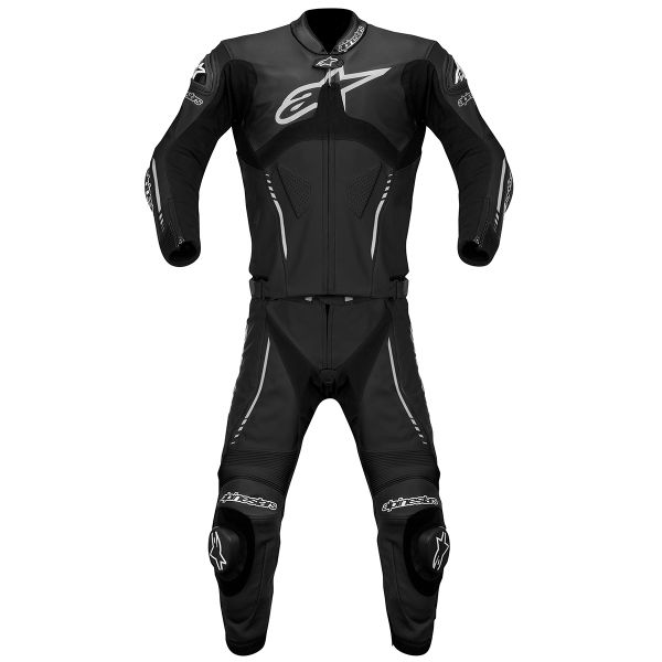 combinaison moto cuir alpinestars atem suit 2pc black en stock. Black Bedroom Furniture Sets. Home Design Ideas