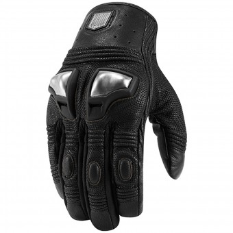 Gants Moto ICON 1000 Retrograde Glove Black