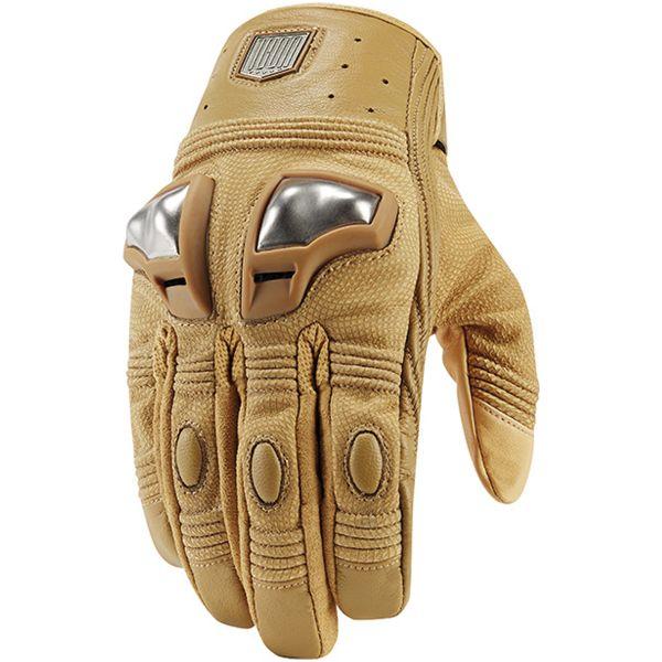Gants Moto ICON 1000 Retrograde Glove Tan