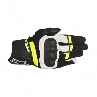 Gants Moto Alpinestars Booster Black Yellow Fluo