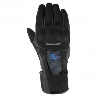 Gants Moto V'Quattro Carter Vented Black